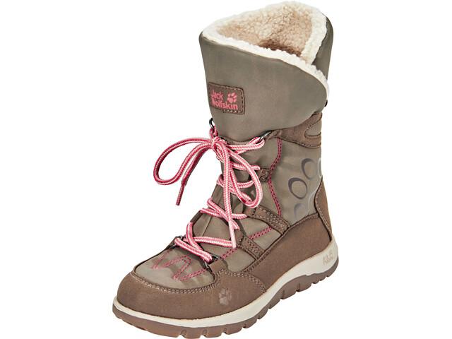 premium selection 3be7c 9d5e4 Jack Wolfskin Rhode Island Texapore High Winter Boots Mädchen siltstone